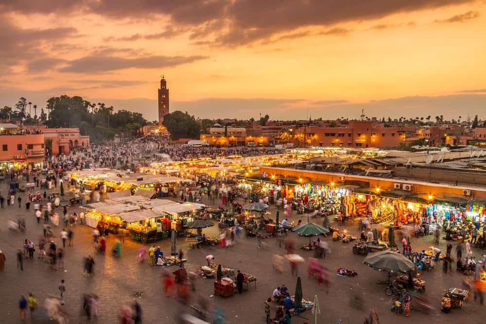 plaza de Jamaa el Fna, que ver en Marruecos