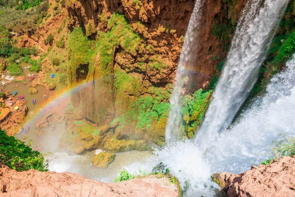 cascadas de Ouzoud, visita que hacer en Marruecos