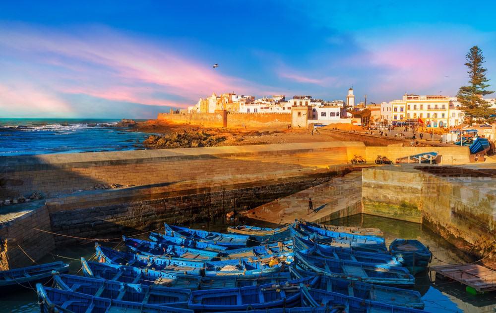 puerto de Esaouira, Marruecos