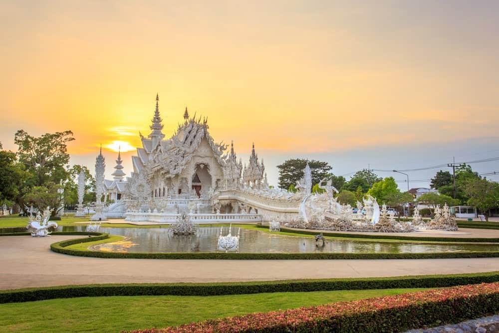 visitar el Templo Blanco en tu viaje a Tailandia