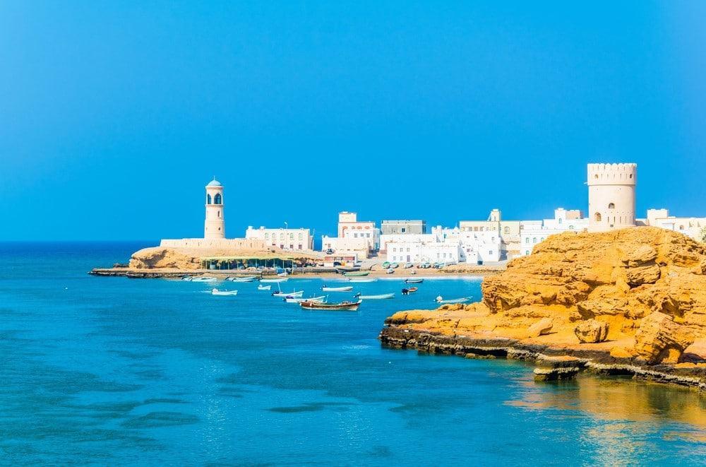 Itinerario para viajar a Omán pasando por Sur