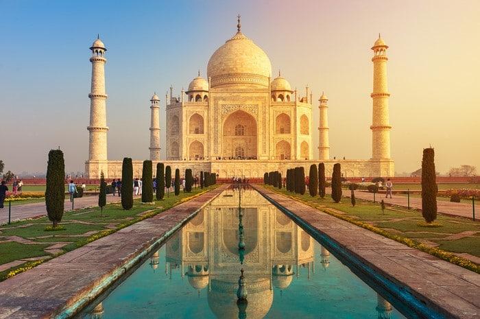 expectativa vs realidad Taj Mahal