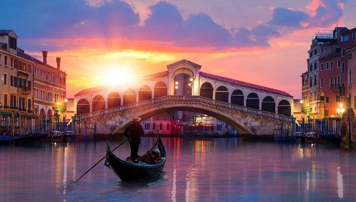 expectativa vs realidad paseo en góndola por Venecia