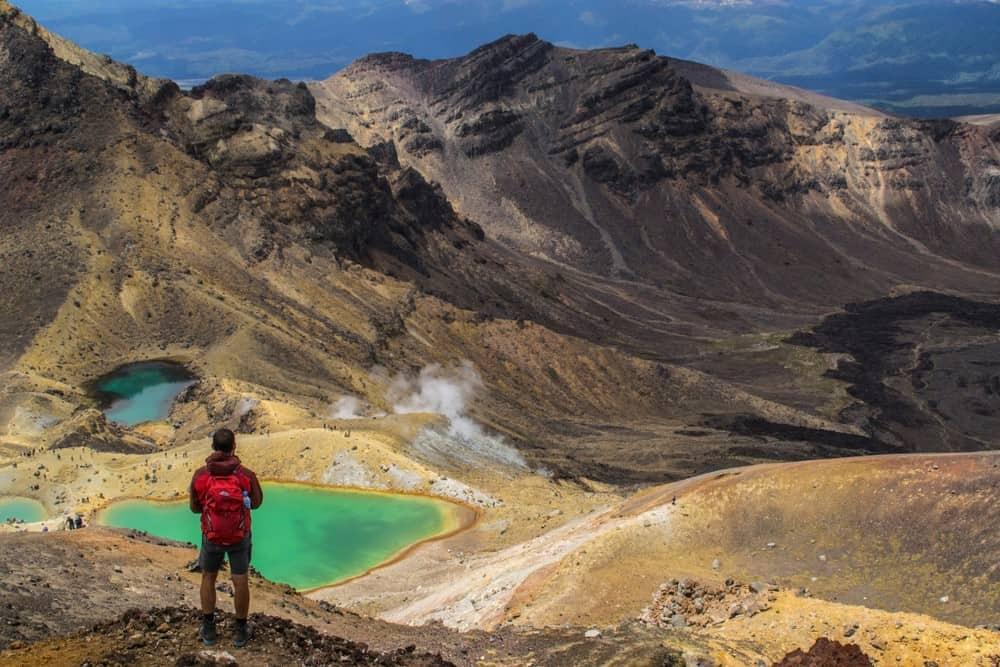 Tongariro Alpine Crossing en Nueva Zelanda