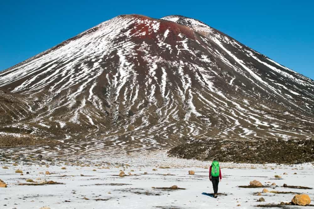 hacer el Tongariro Alpine Crossing en Nueva Zelanda