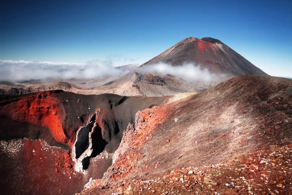 dificultad del Tongariro Alpine Crossing Nueva Zelanda