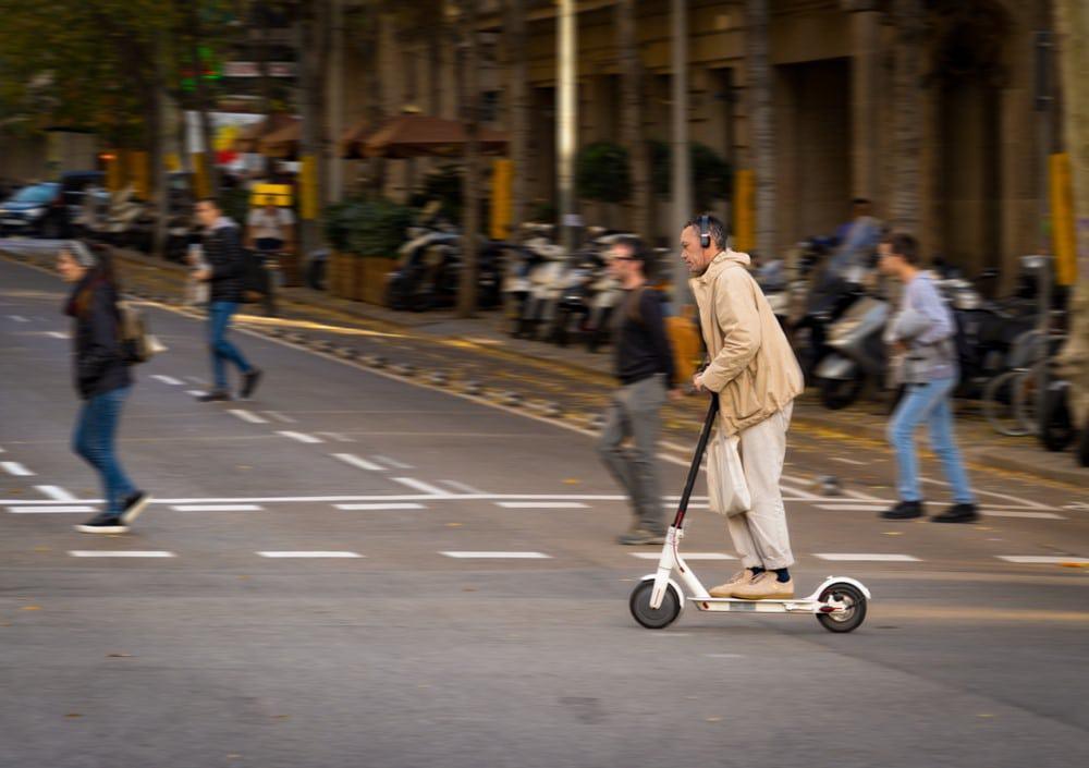 El patinete eléctrico, ¿moda o transporte de futuro?