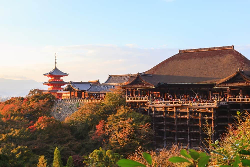 Templo Kiyomizu-Dera, algo que ver en Kioto