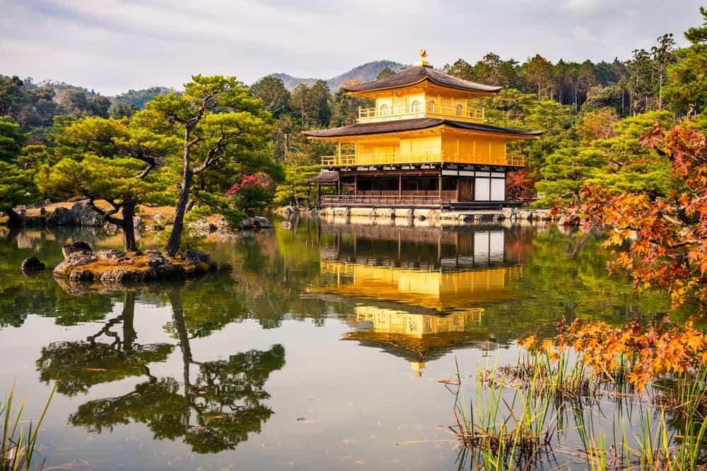 Pabellón Dorado en Kioto