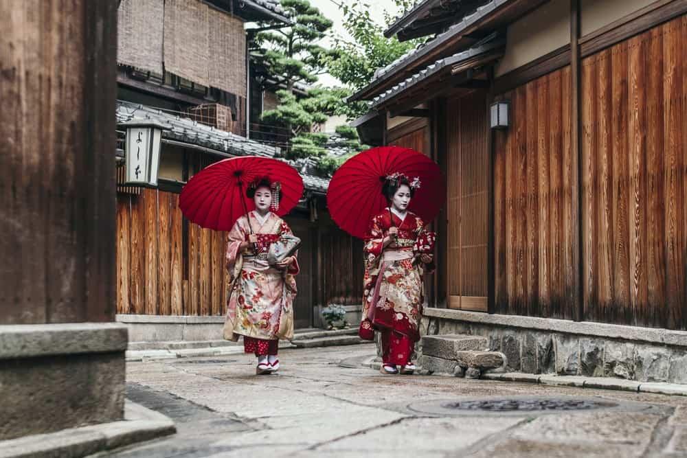 Barrio de Gion en Kioto