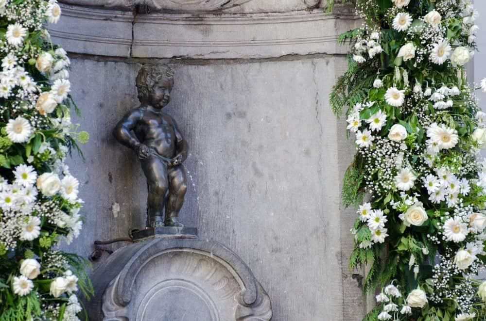 Manneken Pis , algo que ver en Bruselas