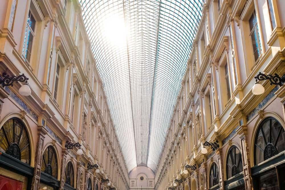 Galerías Reales de Saint Hubert en Bruselas