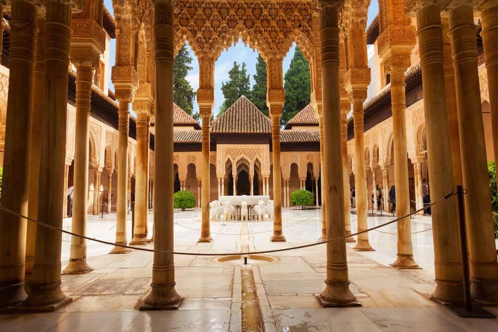 historia de la Alhambra de Granada