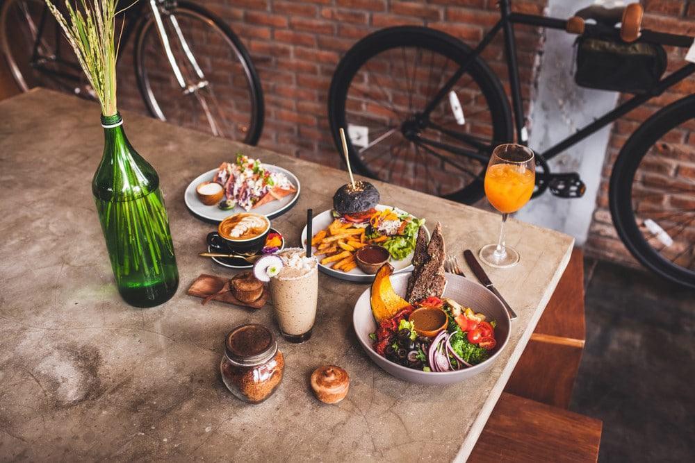 restaurantes vegetarianos y veganos en Bali