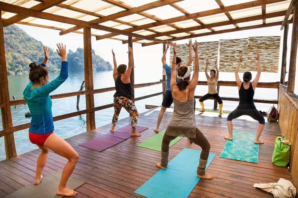 retiro de yoga en Lago Atitlán
