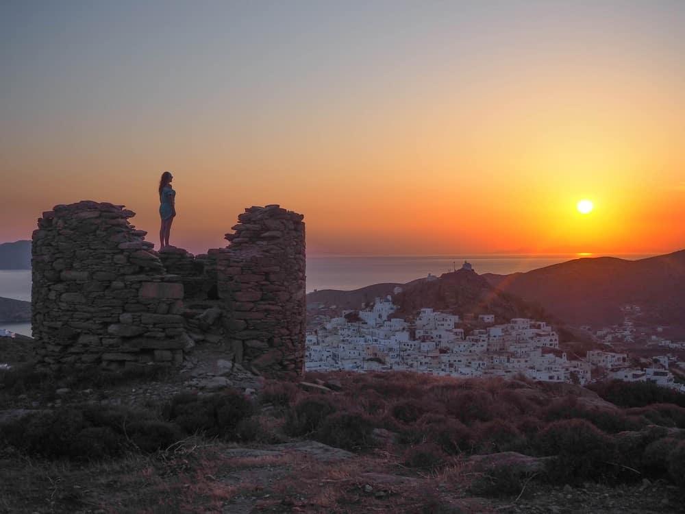 visitar la isla griega de Ios
