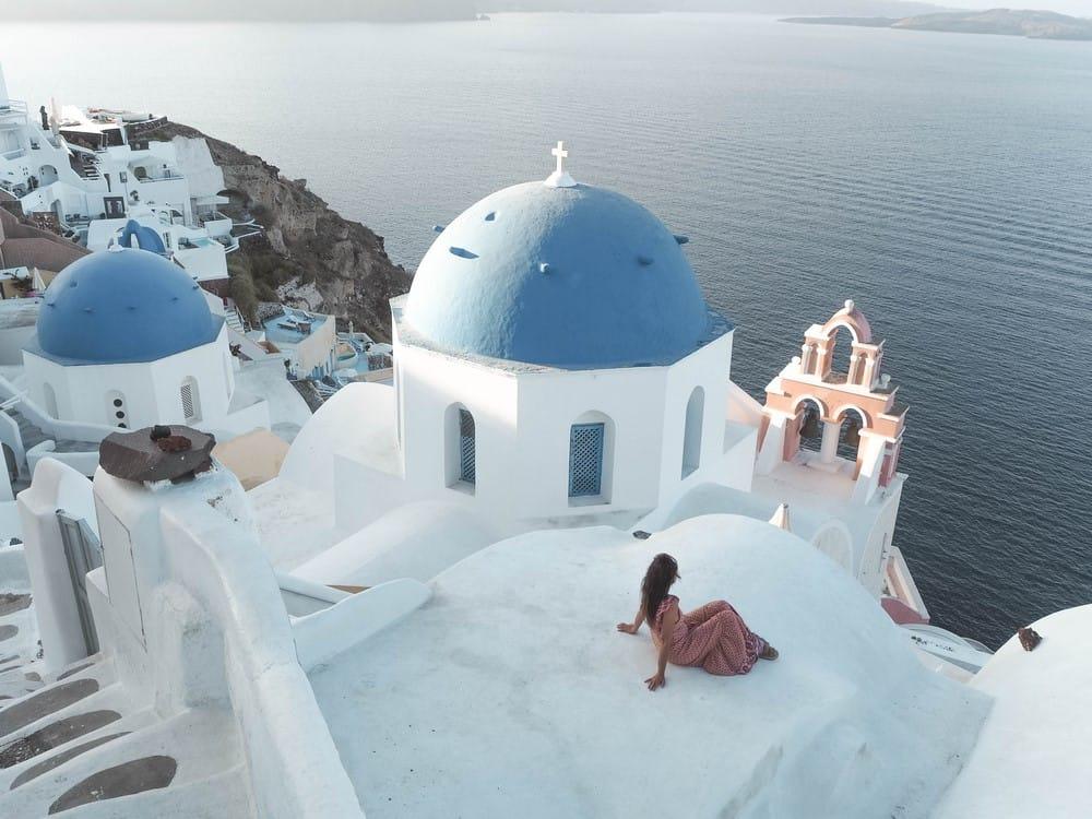 qué hacer en Oia, Grecia