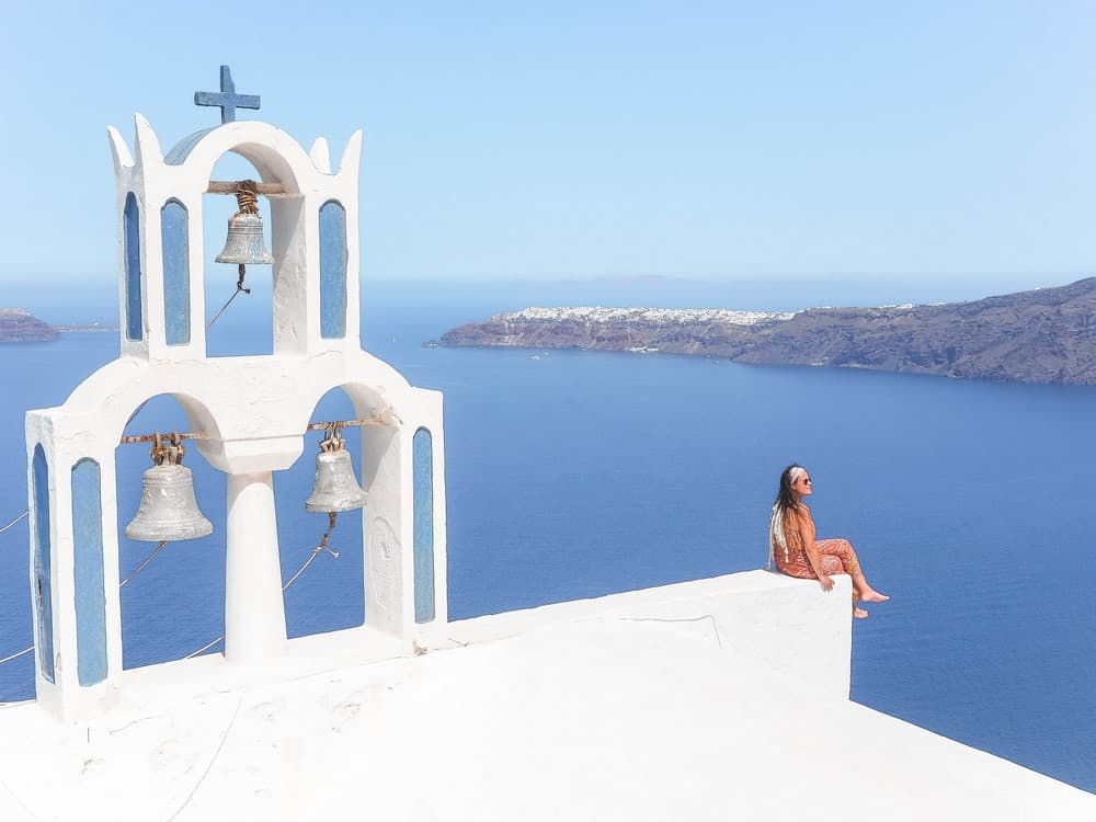 ver Santorini en el viaje a Grecia