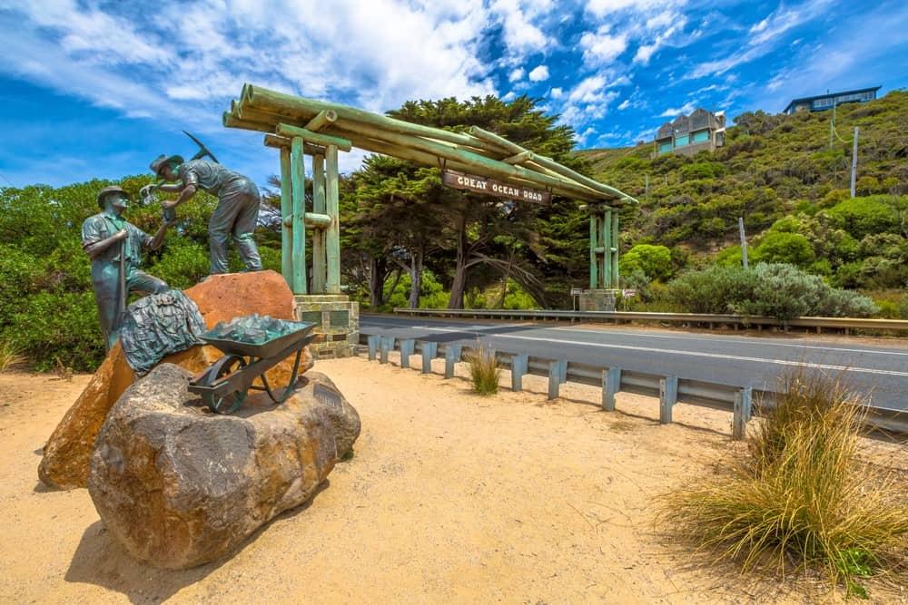 memorial de la Great Ocean Road