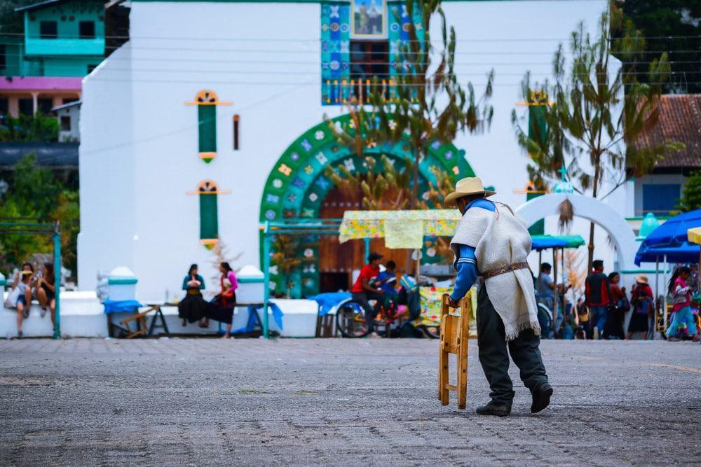 San Juan Chamula desde San Cristobal de las Casas