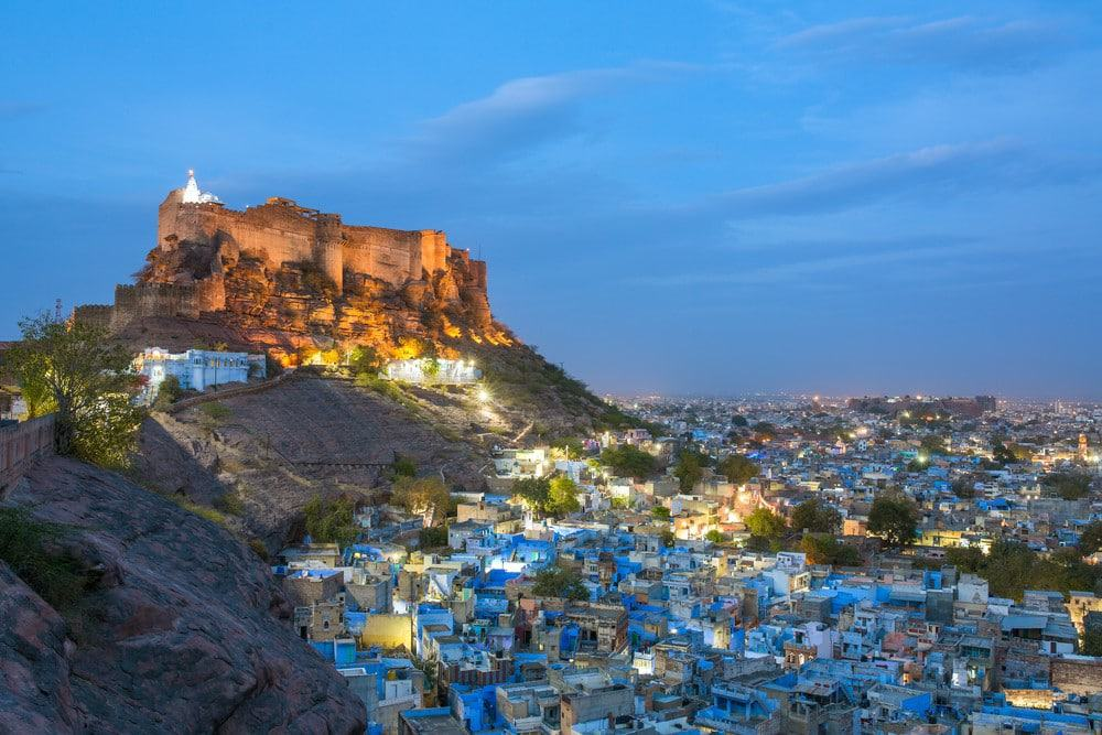 Jodhpur en el norte de India
