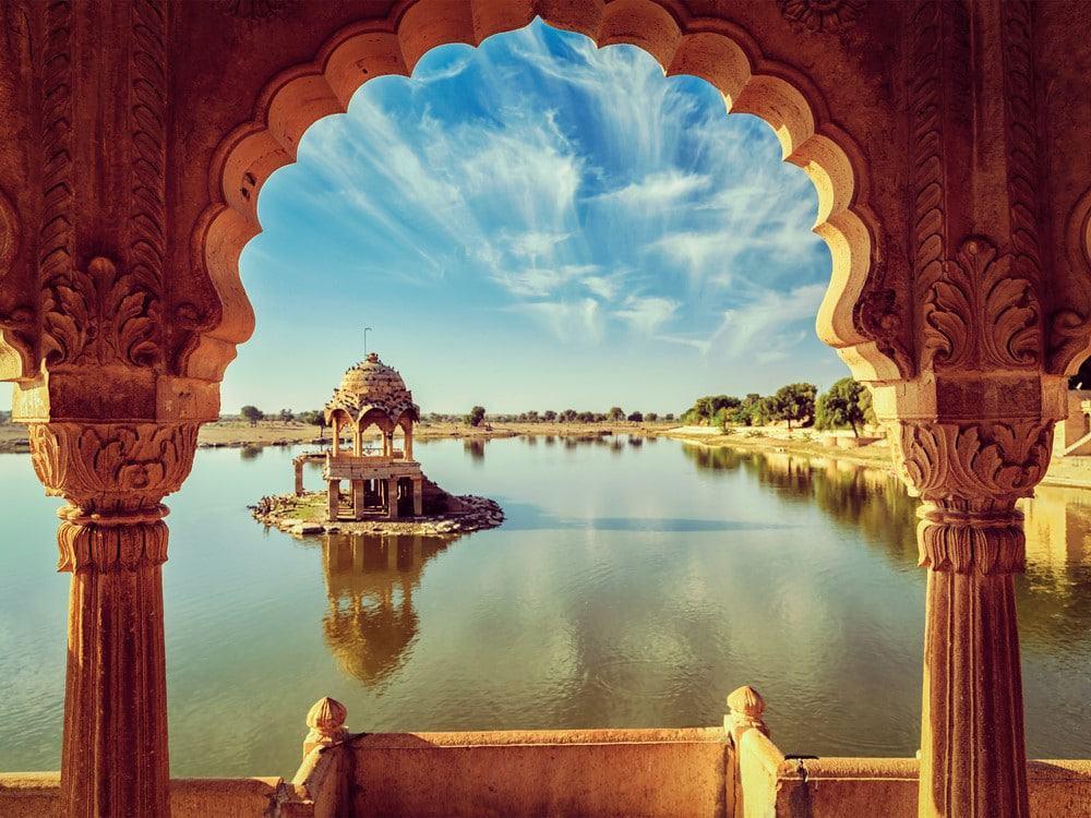 Jaisalmer y su bonito lago