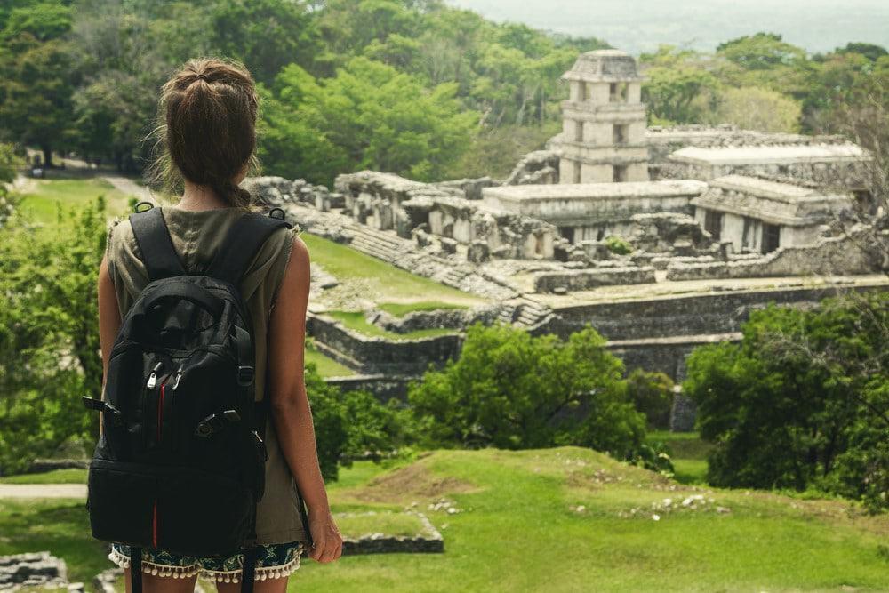 ruinas maya de Palanque en México