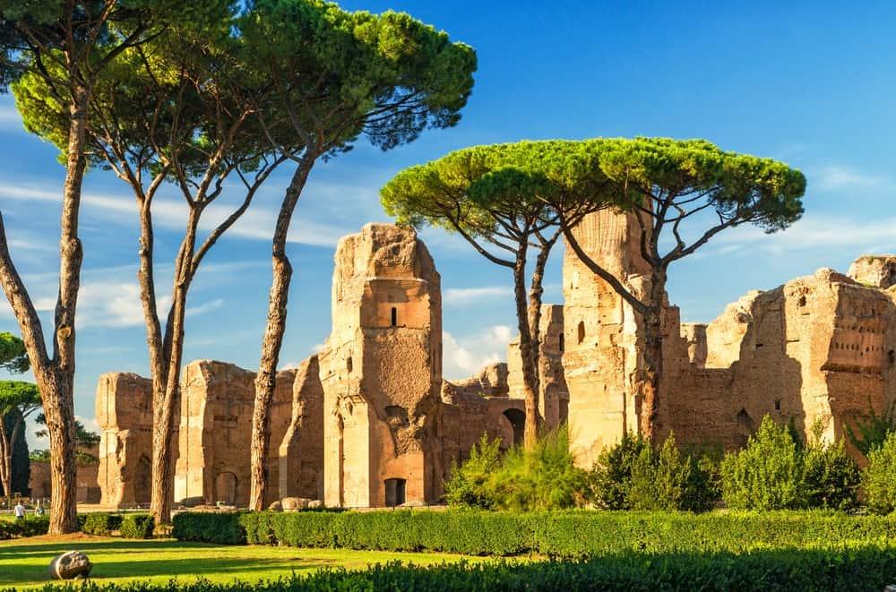 visitar las Termas de Caracalla