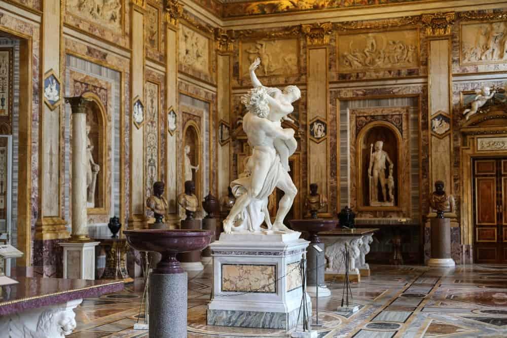 Visitar la Villa Borghese y entrar a la Galería Borghese