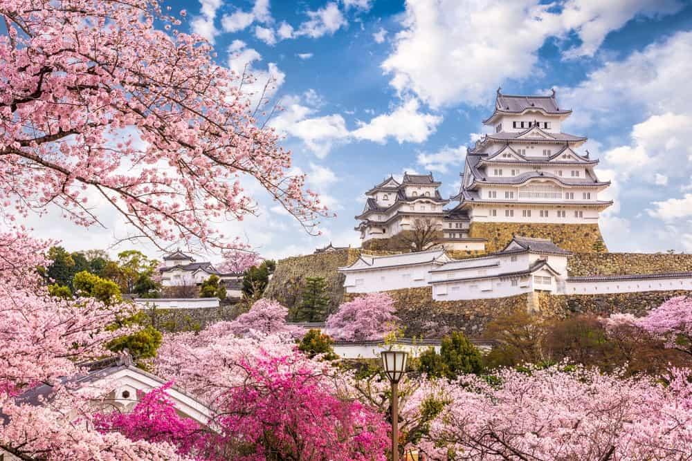 Castillo de Himeji en ruta por Japón de 15 días