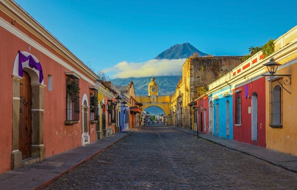 volcanes en Guatemala