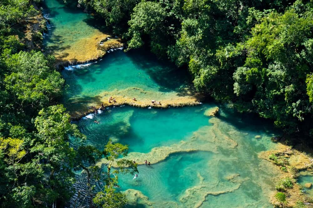 piscinas naturales de Semuc Champey