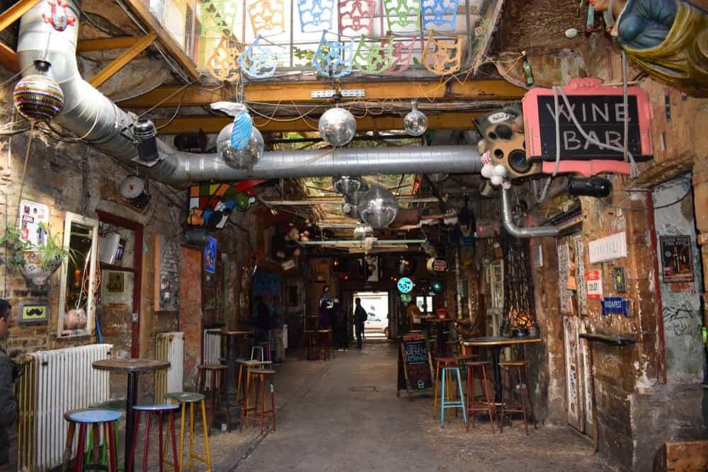 ruin bars de Budapest