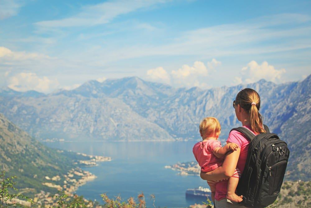 consejos para el primer viaje en familia