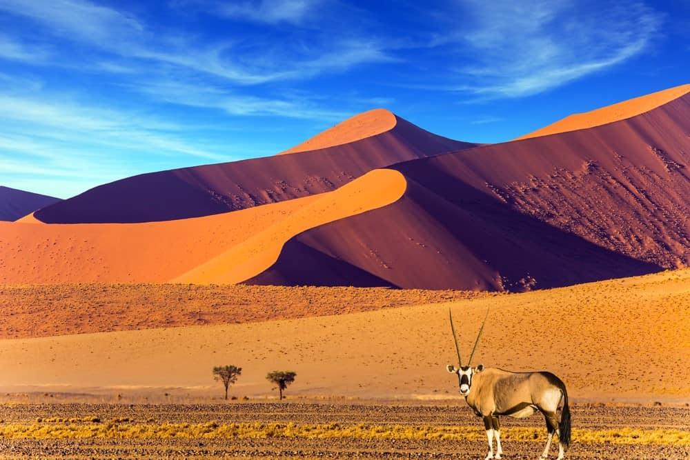 es seguro viajar a Namibia