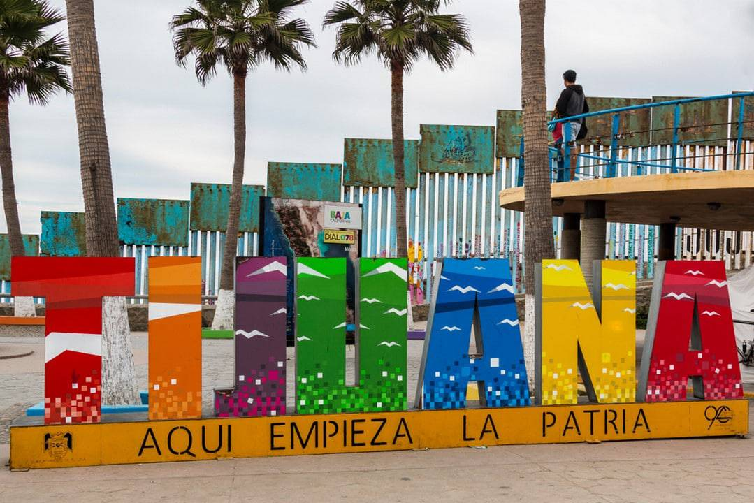muro de Tijuana