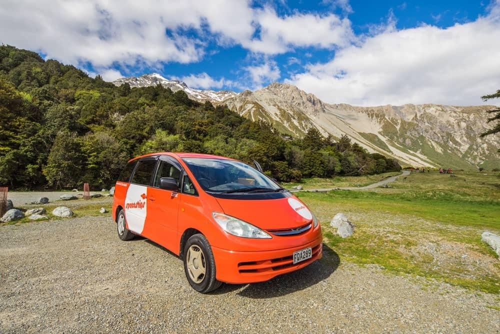 alquilar coche en Nueva Zelanda