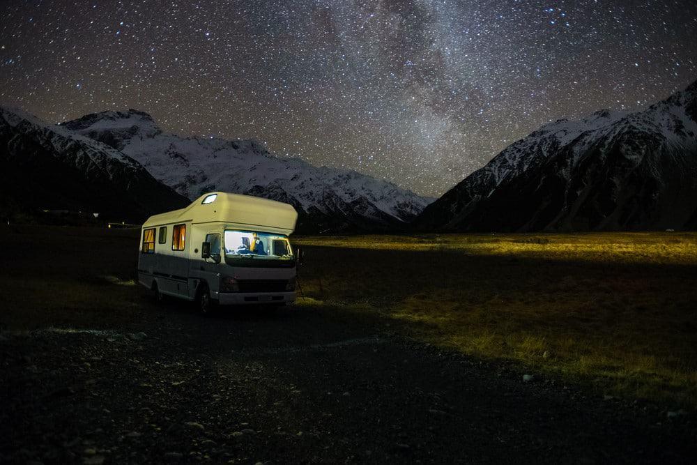 alquilar furgoneta en Nueva Zelanda