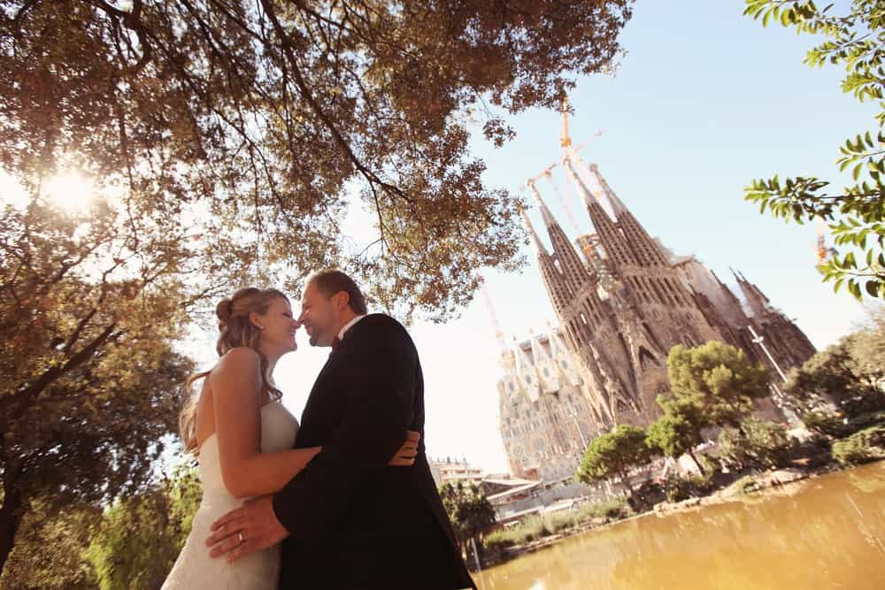 casarse en la Sagrada Familia
