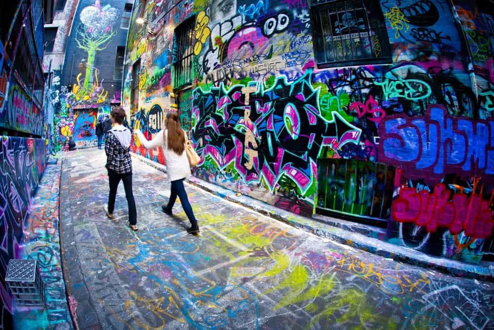 street art en Melbourne