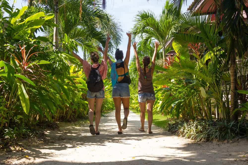 viajar con amigas, mejores destinos