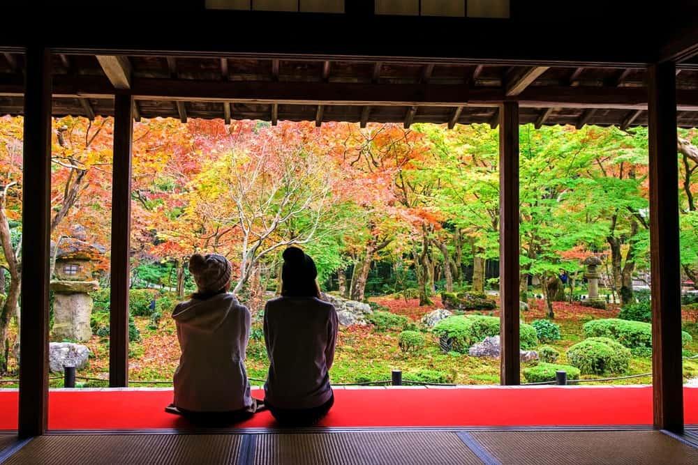 viaje a Japón con amigas