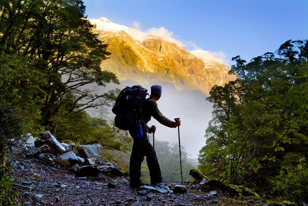 países para hacer trekking
