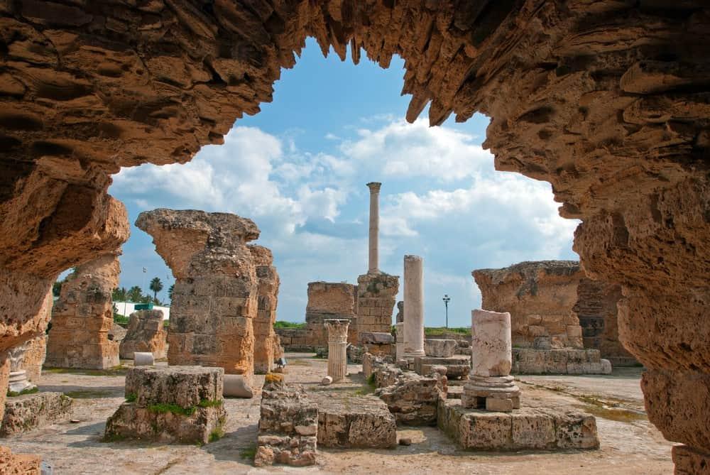visitar Cartago en Túnez