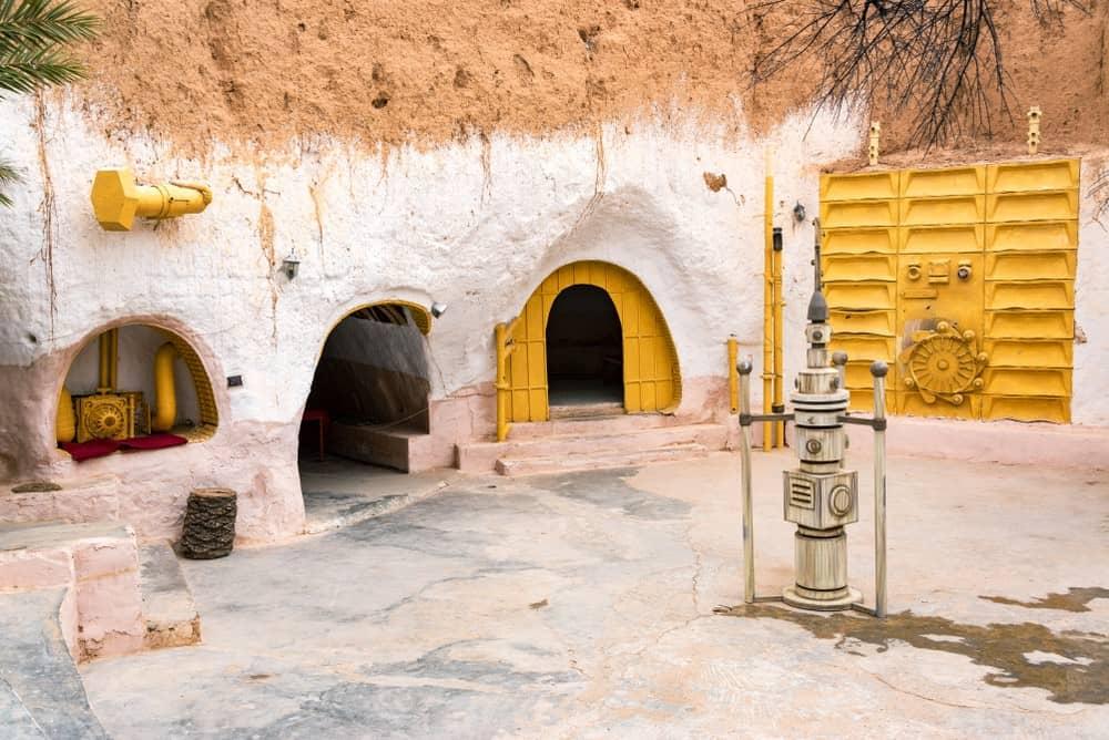 escenarios de Star Wars en Túnez