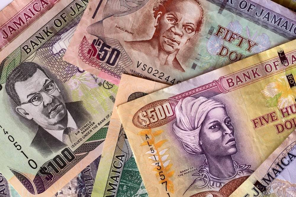 moneda de Jamaica, dólar jamaicano