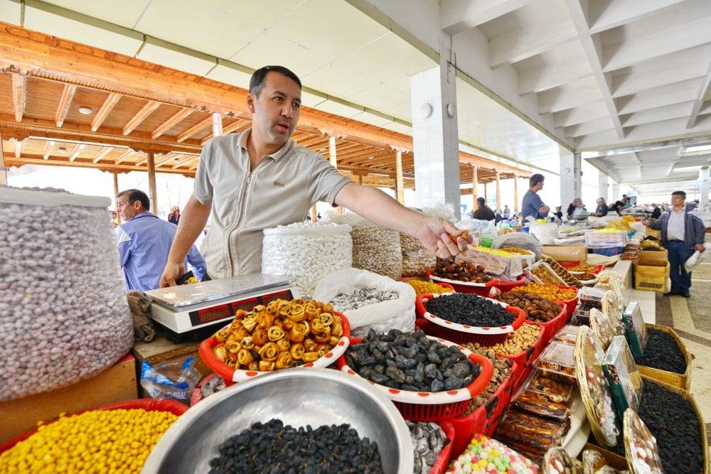 Bazar de Siob, Samarcanda