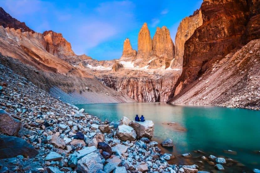 Ruta W en Torres del Paine