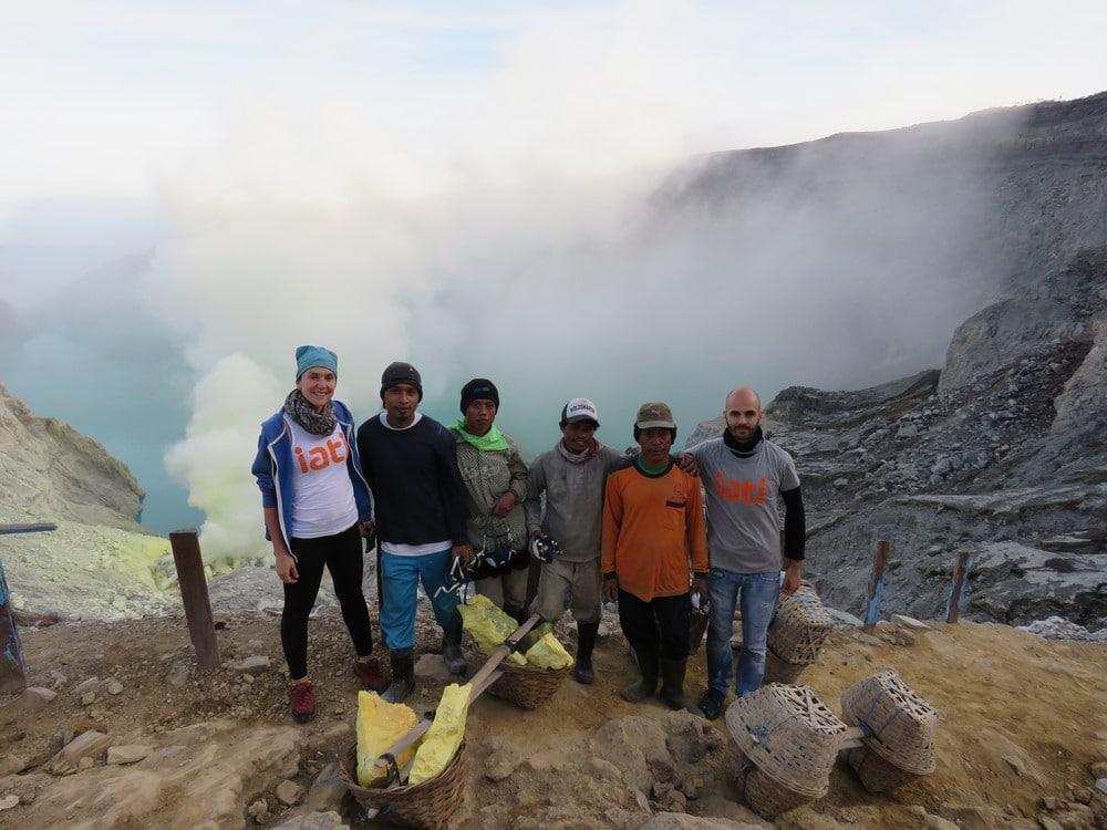 subir al volcán Ijen