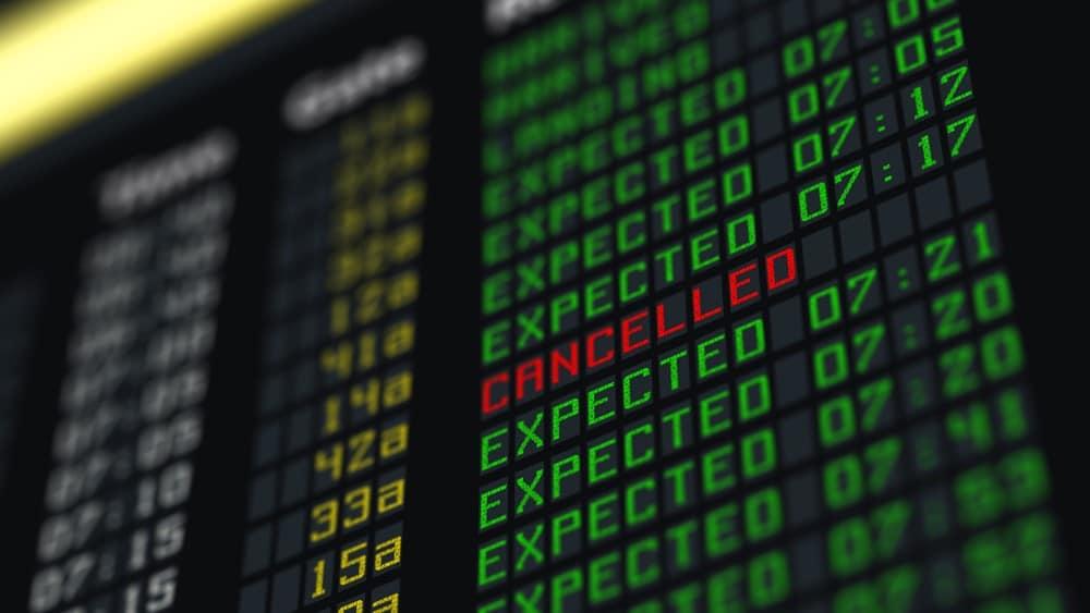 cancelación de vuelo, qué hacer